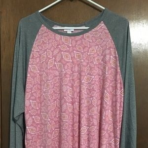 LuLaRoe Randy Top 3XL New with Tags